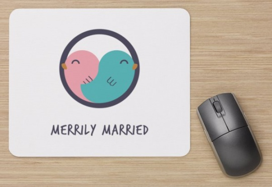 Merrily Married alfombrilla
